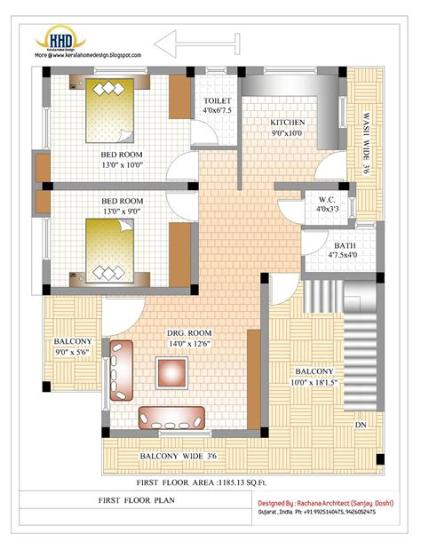 plan for house 2370 sq ft indian style home design indian home decor