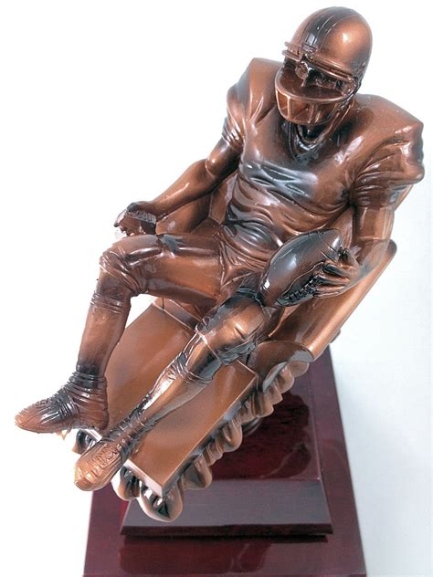 armchair quarterback trophy fantasy football armchair quarterback trophy loria awards