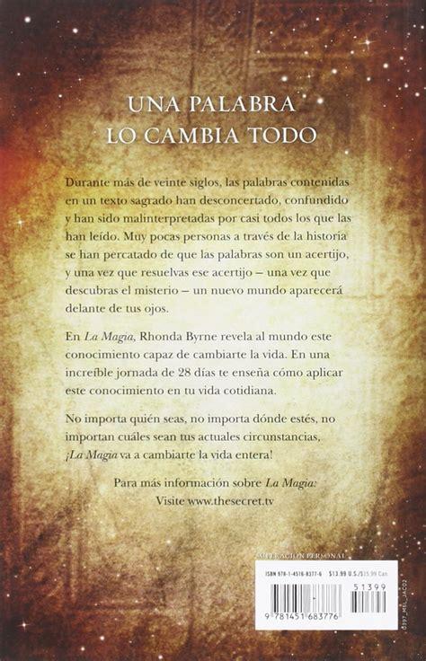 la magia secret rhonda 1451683774 galleon la magia atria espanol spanish edition