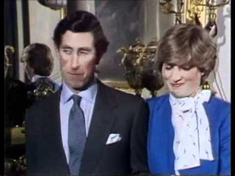when did tv get color prince charles s awkward engagement with