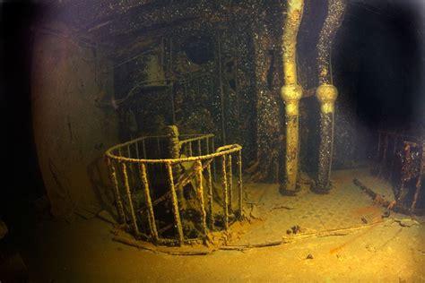 Titanic Wreck Interior by Britannic Gallery Richie Kohler