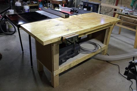 new outfeed table for my sawstop furniture wood talk