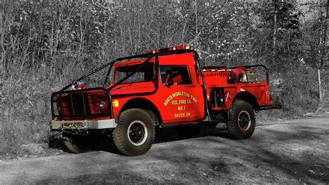 jeep brush truck jeep brush truck photograph by steven shaffer