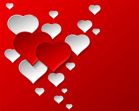 design background love hearts design romantic valentines heart red love