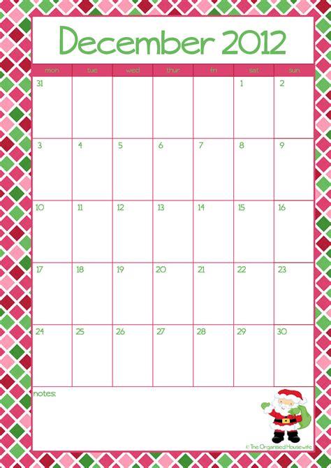printable free christmas calendar calendar template 2016