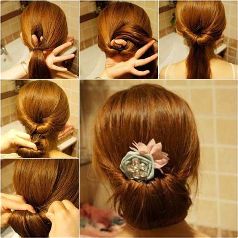 modern hairstyles easy to fix how to diy easy twisted hair bun hairstyle bun hairstyle