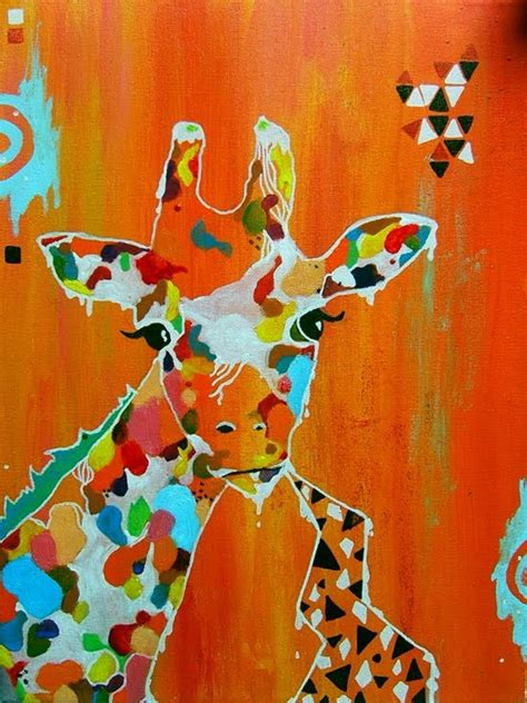 giraffe design journal 61 best artsy animals images on pinterest giraffes