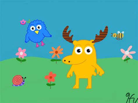 Noggin: Moose and Zee by gissele365 on DeviantArt