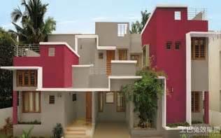 Small Home Painting Ideas 农村建筑外墙涂料效果图 土巴兔装修效果图