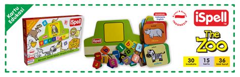 ispell the zoo puzzle ispell the zoo toko perlengkapan bayi