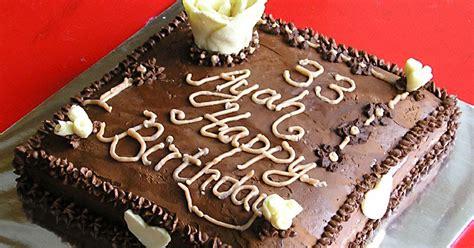 Tbm Spesial 250 Gram Cake Elmusifier resep kue ulang tahun sederhana simple resep masakan 4