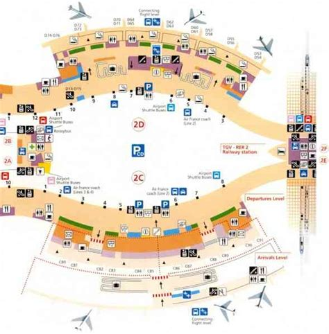 cdg airport map map charles de gaulle airport map travel holidaymapq