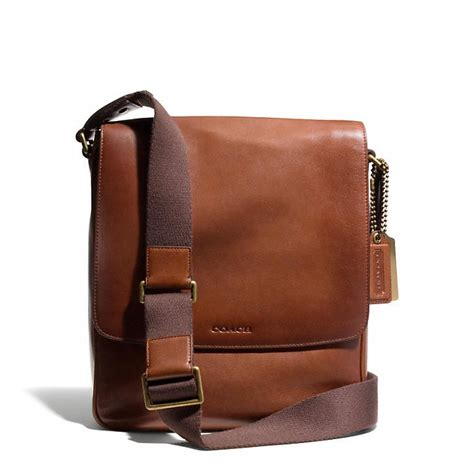 The Coach Bleecker Tattersall Shopping Bag by Www Hardwarezone Sg Coach Bleecker Map Bag In Leather