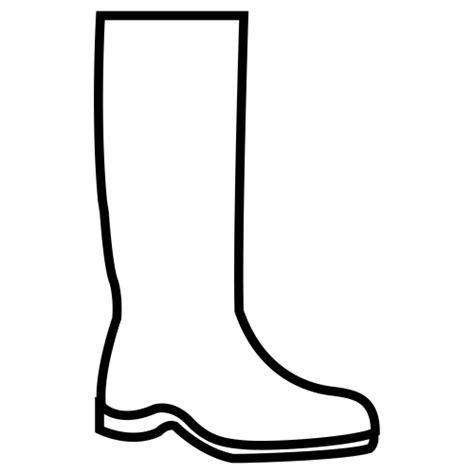 imagenes para colorear botas navideñas botas de lluvia para colorear imagui