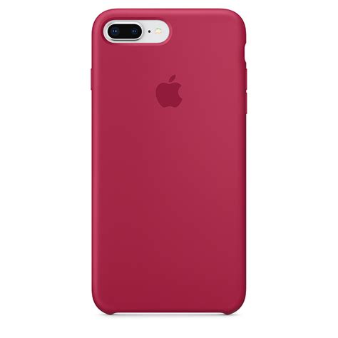 iphone     silicone case rose red apple