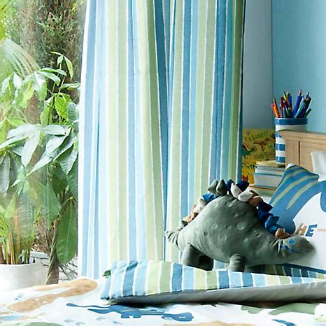 catherine lansfield dino pair of standard lined curtains