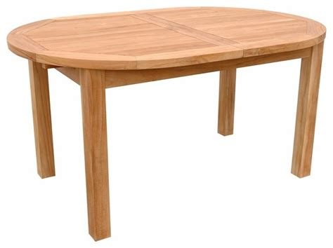 bahama 78 quot oval extension table traditional outdoor
