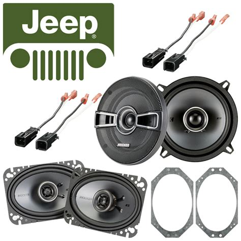 Jeep Wrangler Replacement Speakers Jeep Wrangler 1985 1996 Factory Speaker Replacement Kicker