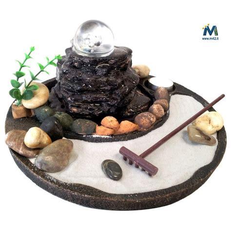 fontane da interno fontana da interno feng shui giardino zen con sfera in