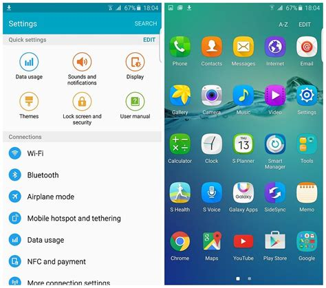 Samsung App Drawer Icon by Samsung Galaxy S6 Edge Review Cutting Edge Hardware Reviews Androidpit
