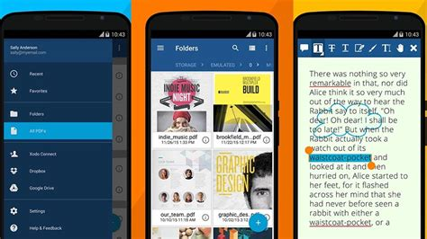 reader android os melhores leitores pdf para android android