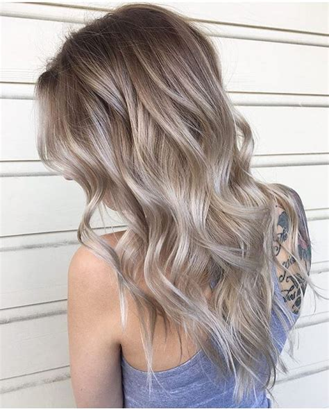 blonde colours for winter ashy blonde color by hair byjenwills perfect for moving