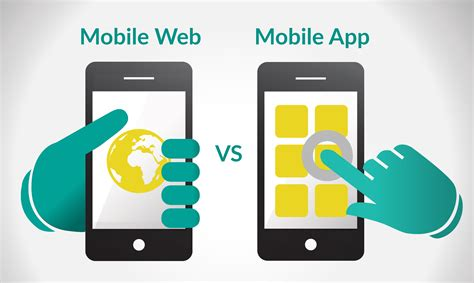 mobile app for mobile app vs mobile website webriders india