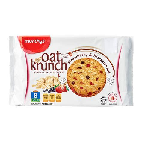 Oat Krunch Strawberry Blackcurrant oat krunch strawberry and blackcurrant 208g from redmart