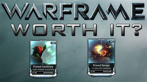 Warframe Mod Card Template by Warframe Maxed Prime Mods Are They Really Worth The