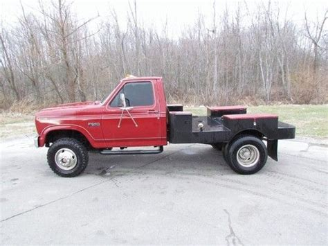 used welding beds for sale sell used 1986 ford f 350 diesel truck welders bed in