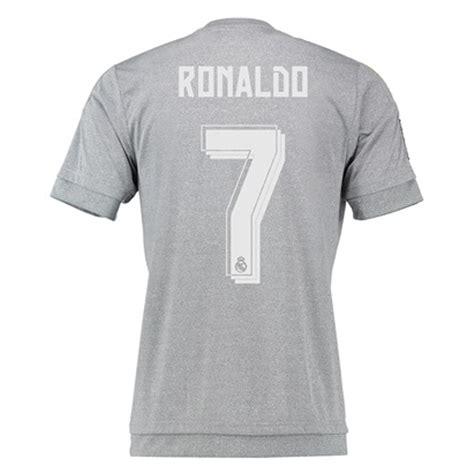 Jersey Og Black real madrid ronaldo 7 away 15 16 replica soccer jersey