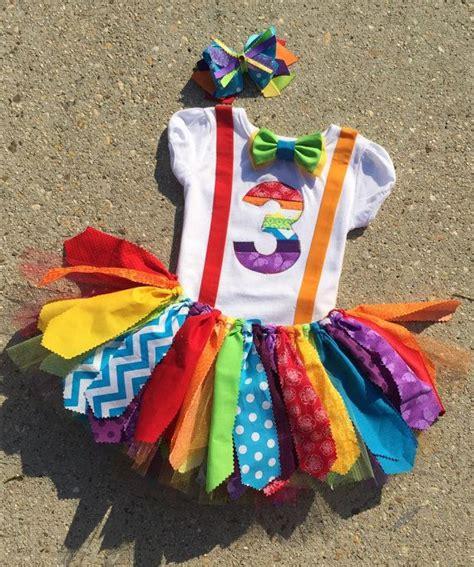 carnival themed birthday outfits rainbow birthday outfit circus birthday outfit clown by