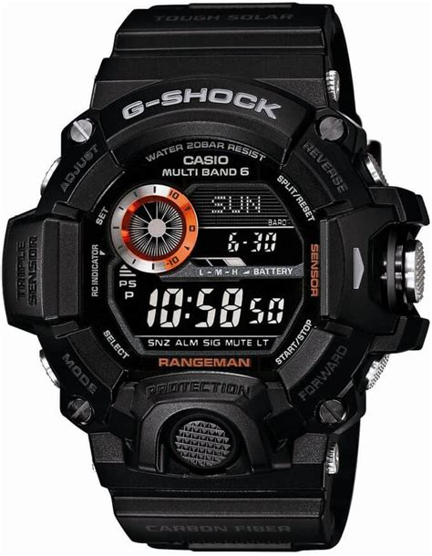 G Shock Gw 9400 Black casio g shock rangeman gw 9400 all models released g