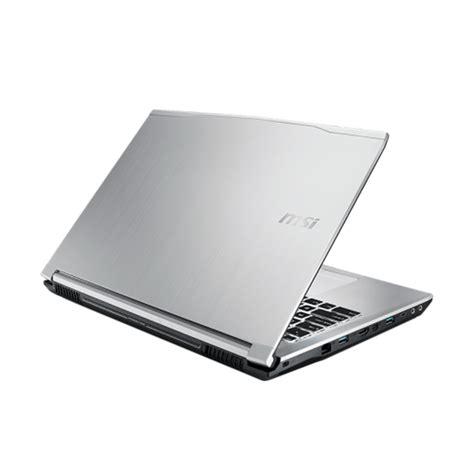 jual msi pro pe60 6qd 216id notebook silver 15 6 quot fhd i5