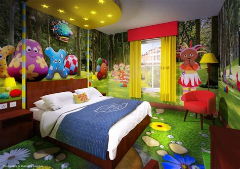 garden bedroom alton towers cbeebies land hotel themed bedrooms unveiled
