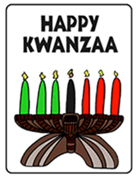 Printable Kwanzaa Cards | happy kwanzaa greeting cards free printable greeting card