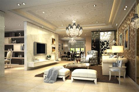 high end living room high end living room with eminent wall 3d model max