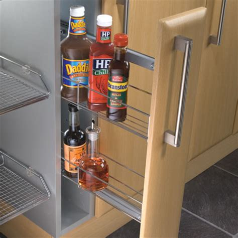 pull out airing cupboard storage pull out storage unit 150 mm cabinet width door front