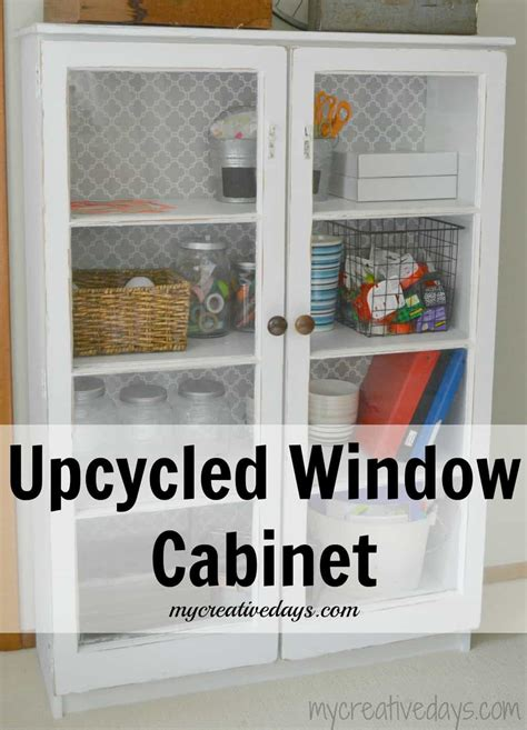 Country Kitchen Cabinet Knobs by Upcycled Window Cabinet Mycreativedays