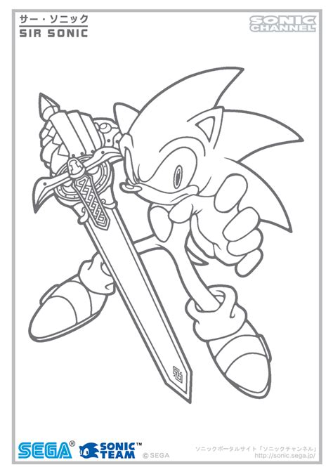 doodle draw channel sir sonic channel color page by fuzon s on deviantart