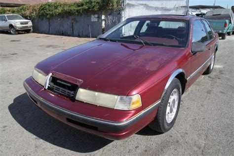 transmission control 1990 mercury cougar security system 1990 mercury cougar ls automatic 6 cylinder no reserve