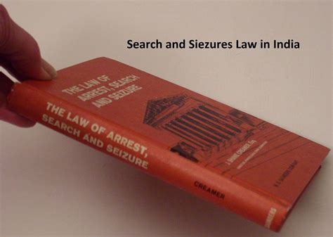 Indian Laws Search Search And Siezures In India Powers Kle Society S College