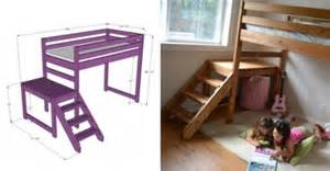 Instructions For Building Loft Beds by How To Make Diy Camp Loft Bed Step By Step Tutorial Instructions How To Instructions