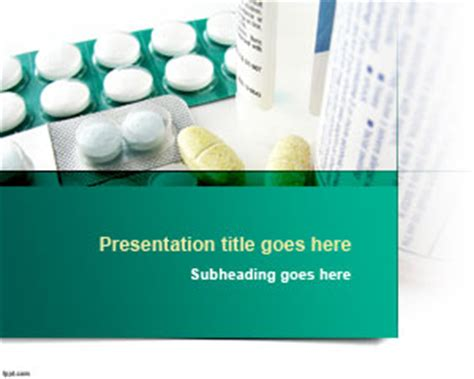 free pharmaceutical powerpoint templates tablets powerpoint template ppt template