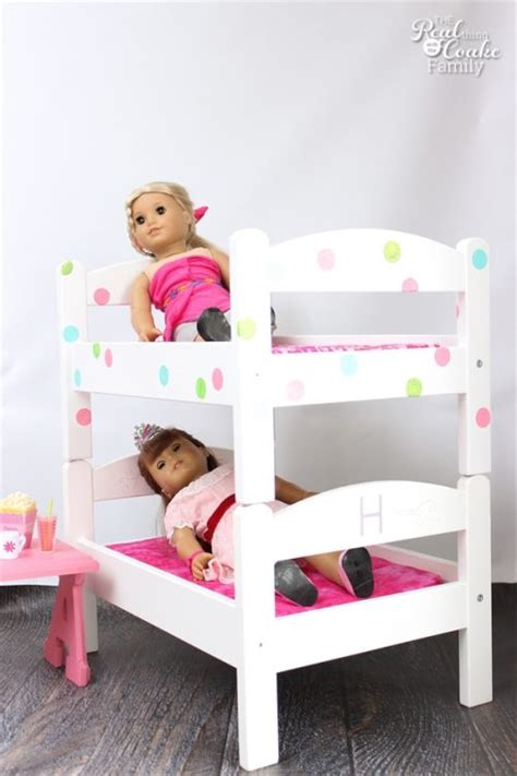 bunk beds for american girl dolls diy american girl doll bunk beds