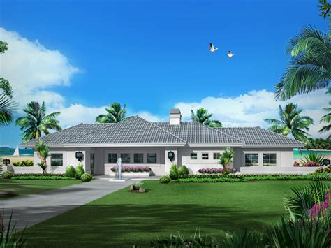 florida ranch house plans carabio cove florida style home plan 007d 0251 house plans and more