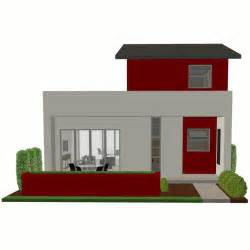 Small Contemporary House Designs by Contemporary Small House Plan 61custom Contemporary