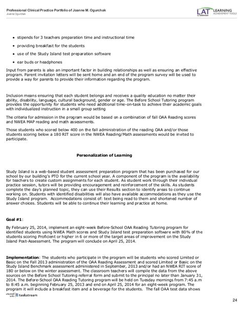 Parent Letter Nwea Adminstrative Portfolio Copy