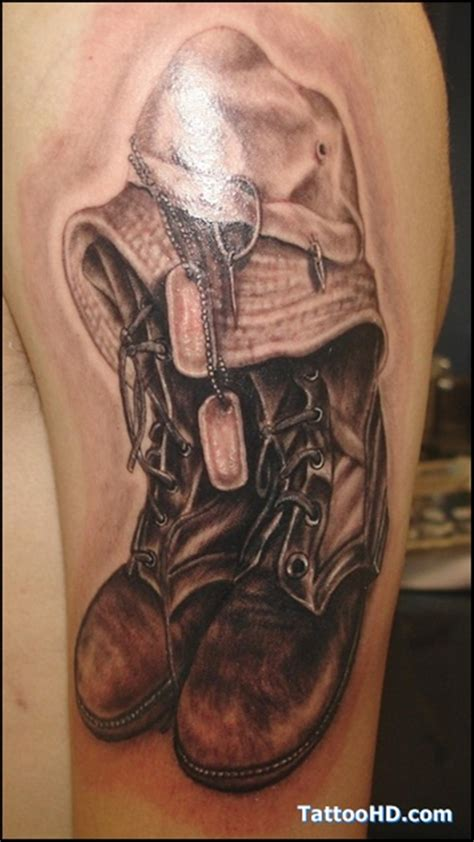 dog tags tattoo 40 lovely tag tattoos and their significance