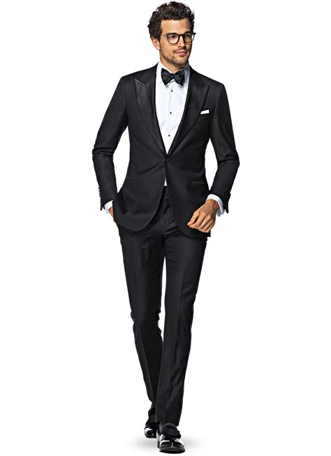 Black Formal Style Suit 41444 suit black plain p1199 suitsupply store